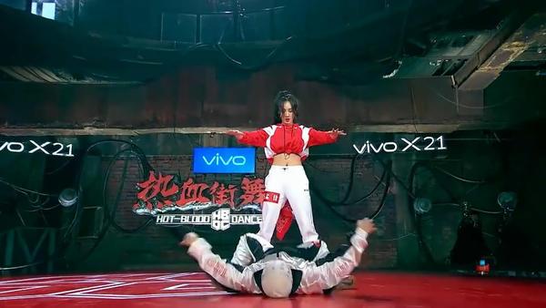 孟佳vs 公孙无名 -《热血街舞团》ep5图片